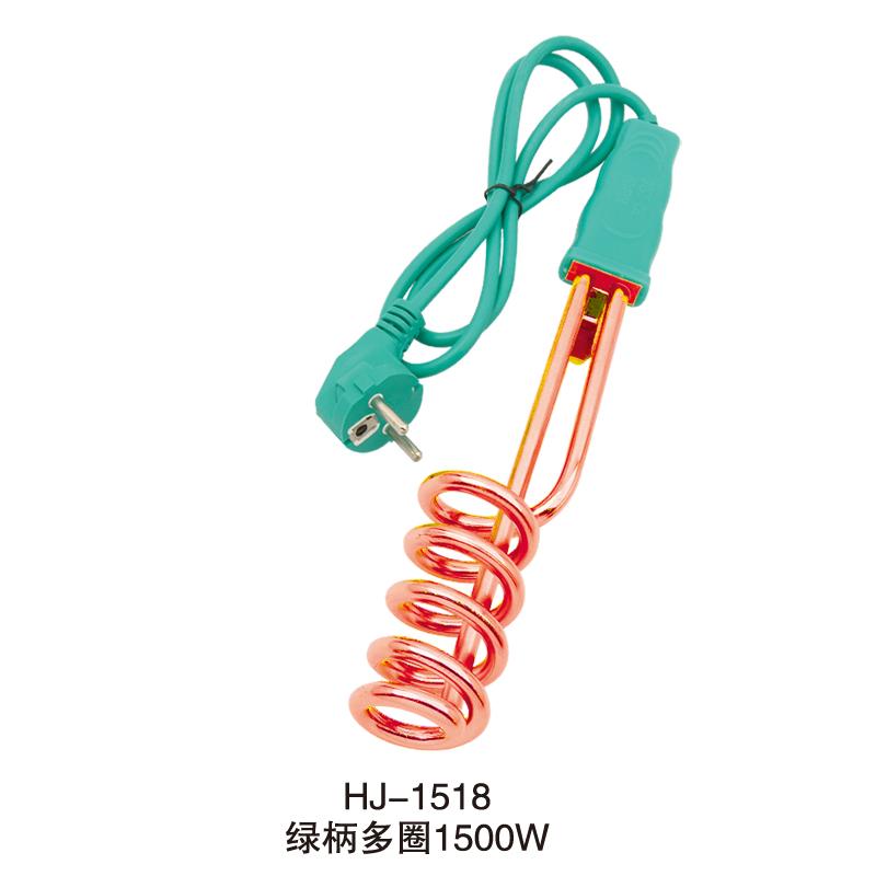 HJ-1518绿柄多圈金管纸卡opp袋1500w
